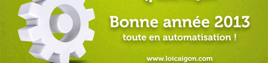 Carte de vœux 2013 FR