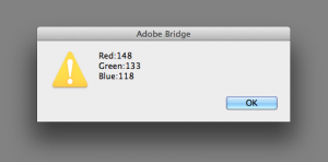 asciiMe Bridge Result