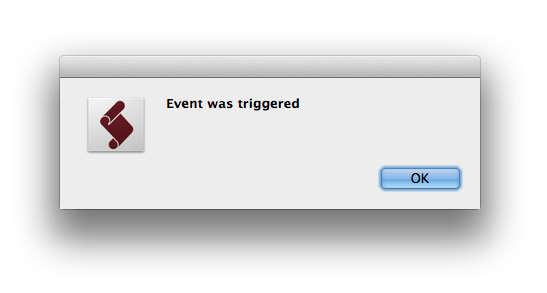 EventManager triggered