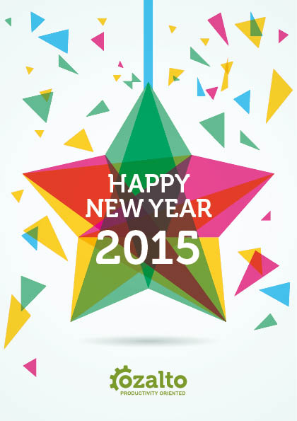 Ozalto wishes you the best for 2015