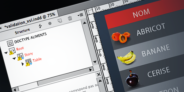 Oubliez la validation DTD dans Adobe InDesign ?
