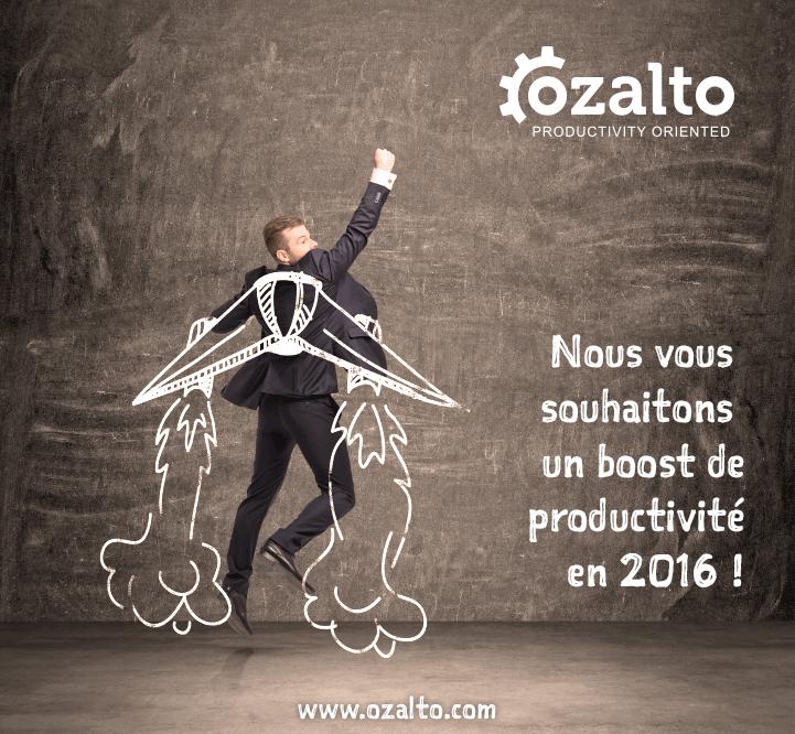 Meilleurs vœux d'Ozalto pour 2016